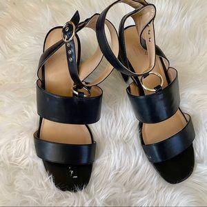 Apt. 9 Faux Leather Strappy Sandals Sz 11
